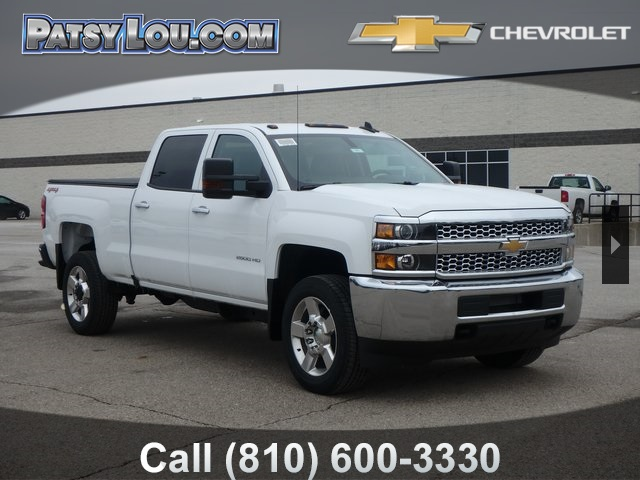 New 2019 Chevrolet Silverado 2500hd Work Truck 4d Crew Cab In Flint