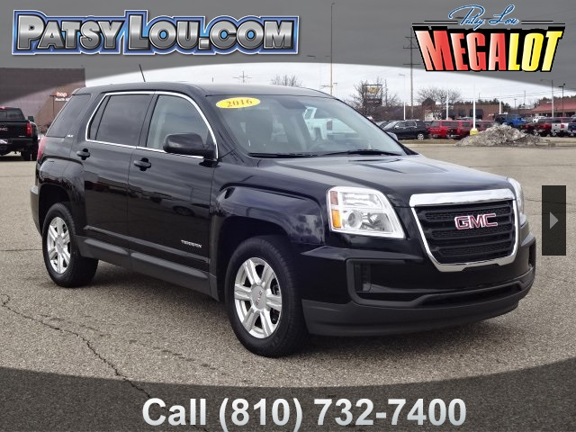 Certified Pre Owned 2016 Gmc Terrain Sle 1 4d Sport Utility In Flint