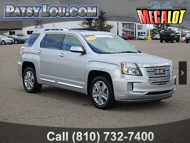 Certified Pre Owned 2016 Gmc Terrain Denali 4d Sport Utility In