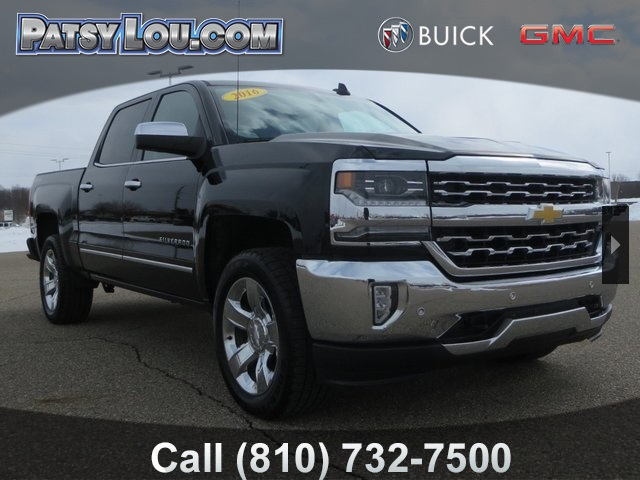 Pre Owned 2016 Chevrolet Silverado 1500 Ltz 4d Crew Cab In Flint 8
