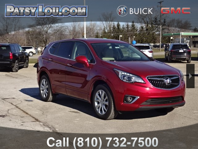 New 2019 Buick Envision Preferred 4d Sport Utility In Flint 9 950