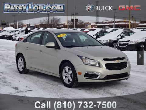 Pre-Owned 2015 Chevrolet Cruze 1LT